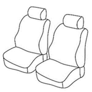 Sedežna prevleka za Dacia Dokker