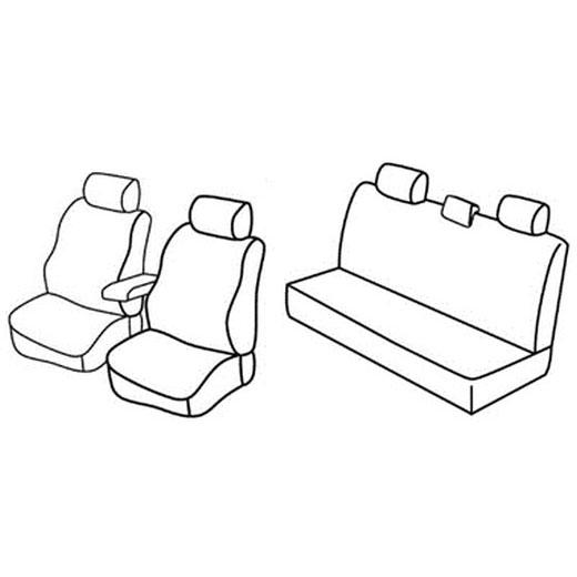 Sedežna prevleka za Dacia Duster
