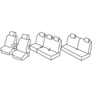 Sedežna prevleka za Dacia Lodgy