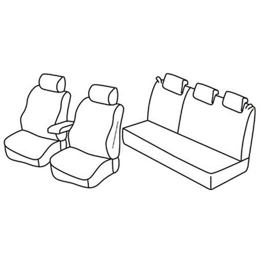 Sedežna prevleka za Dacia Logan