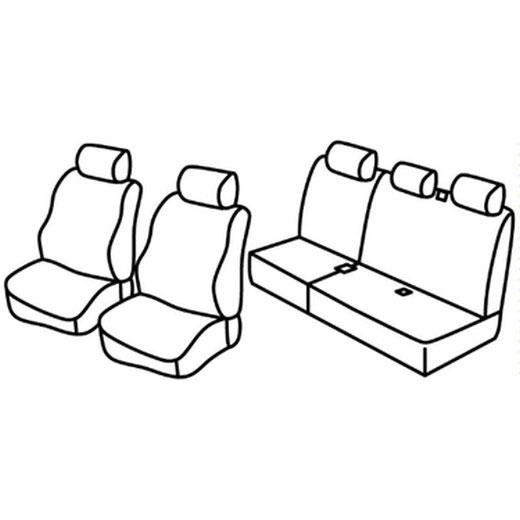 Sedežna prevleka za Dacia Logan MCV