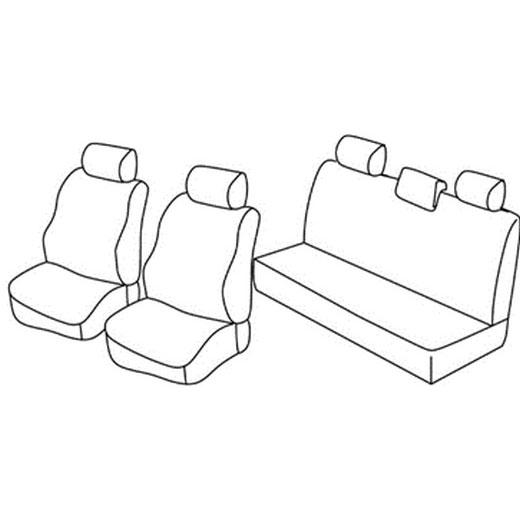 Sedežna prevleka za Dacia Sandero Sepway