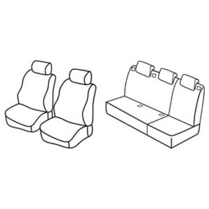 Sedežne prevleke za Citroen Berlingo