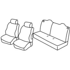 Sedežna prevleka za Citroen C-Elysee
