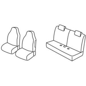 Sedežna prevleka za Citroen C1