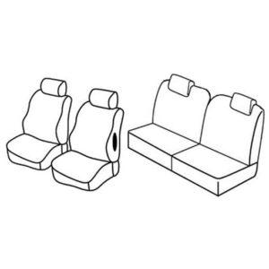 Sedežna prevleka za Citroen C2