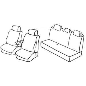 Sedežna prevleka za Citroen C3