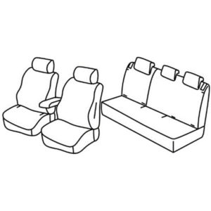 Sedežna prevleka za Citroen C3 Aircross