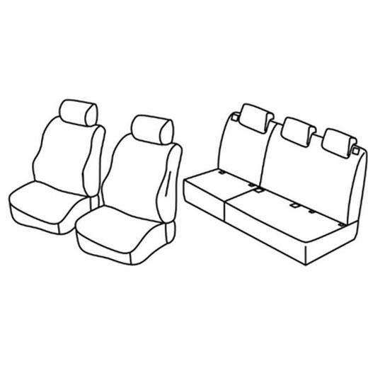 Sedežna prevleka za Citroen C3 Picasso
