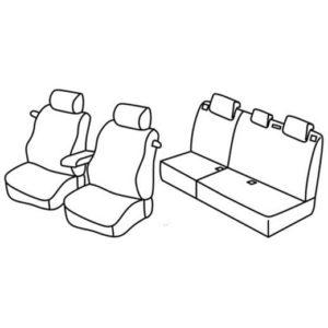 Sedežna prevleka za Citroen C4