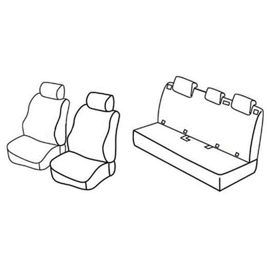 Sedežna prevleka za Citroen C4 Cactus