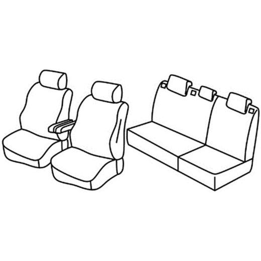 Sedežna prevleka za Citroen C5 X