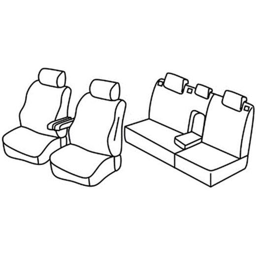 Sedežna prevleka za Citroen C5 SX