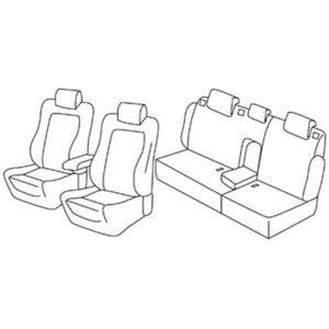 Sedežna prevleka za Citroen C5