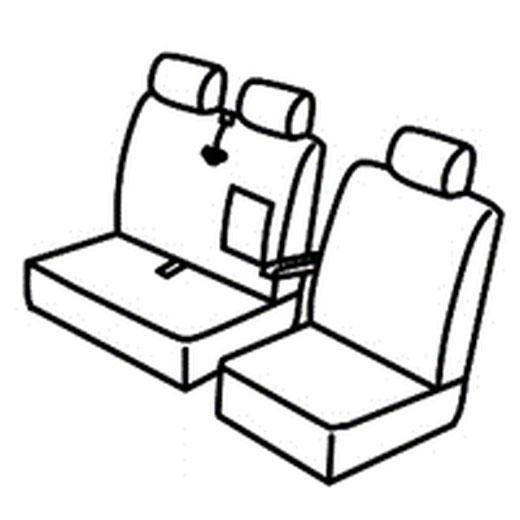 Sedežna prevleka za Citroen Jumper