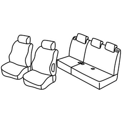 Sedežna prevleka za avto