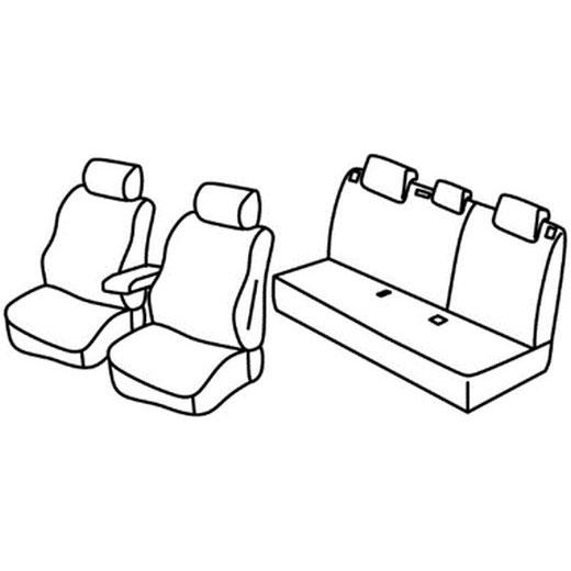 Sedežna prevleka za Chevrolet Aveo