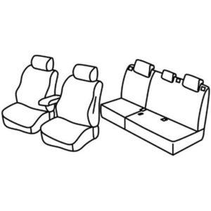 Sedežna prevleka za Chevrolet Captiva