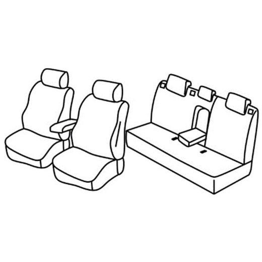 Sedežna prevleka za Chevrolet Cruze