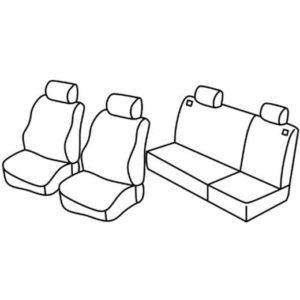 Sedežna prevleka za Chevrolet Matiz