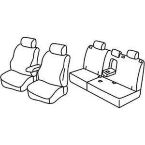 Sedežna prevleka za Chevrolet Orlando