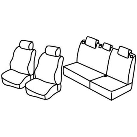 Sedežna prevleka za Chevrolet Spark
