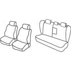 Sedežna prevleka za Fiat Croma