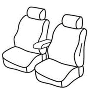 Sedežna prevleka za Fiat Doblo 1