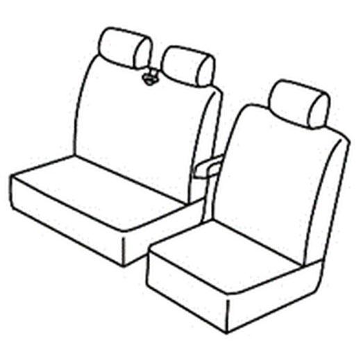 Sedežna prevleka za Fiat Ducato