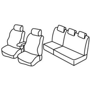 Sedežna prevleka za Fiat Linea