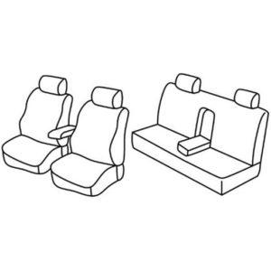 Sedežna prevleka za Fiat Marea
