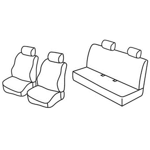 Sedežna prevleka za Fiat Panda Emotion