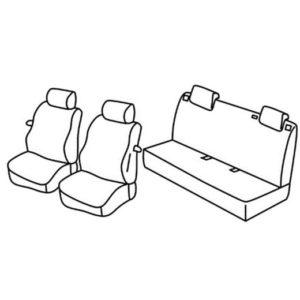 Sedežna prevleka za Fiat Grande Punto Evo