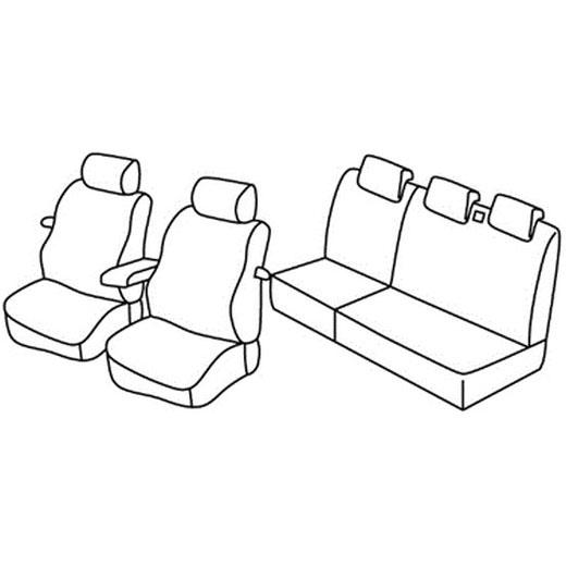 Sedežna prevleka za Fiat Stilo