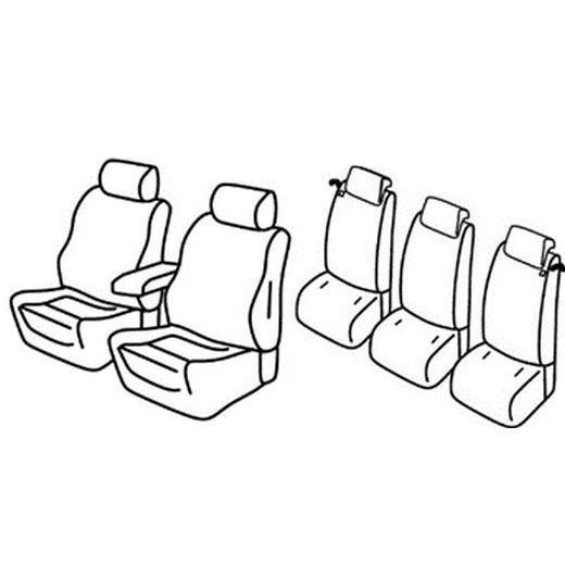 Sedežna prevleka za Ford C-Max
