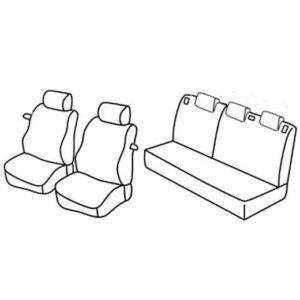 Sedežna prevleka za Ford Fiesta