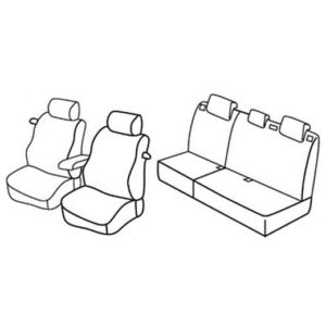 Sedežna prevleka za Ford Focus