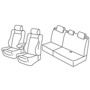 Sedežna prevleka za Ford Kuga