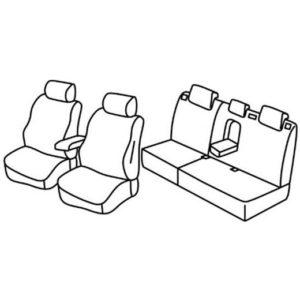 Sedežna prevleka za Ford Mondeo