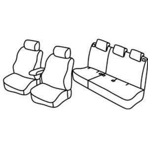 Sedežna prevleka za Ford Tourneo