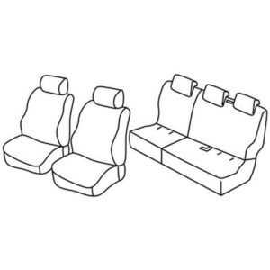 Sedežna prevleka za Ford Transit