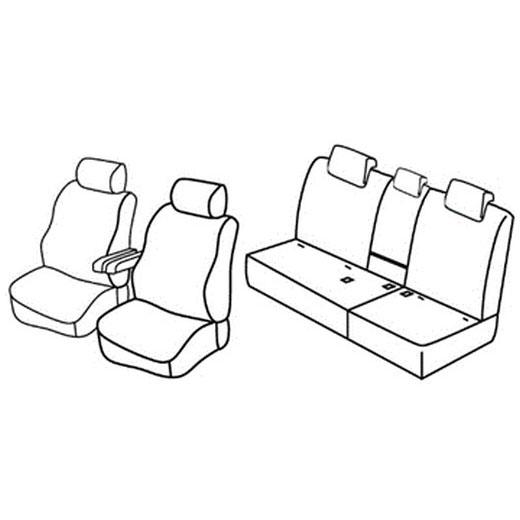 Sedežna prevleka za Honda CR-V