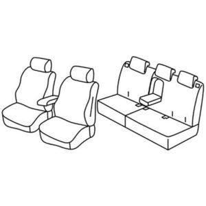 Sedežna prevleka za Honda HR-V