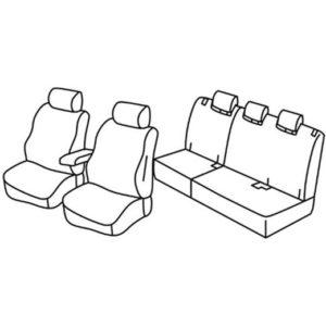 Sedežna prevleka za Honda Jazz