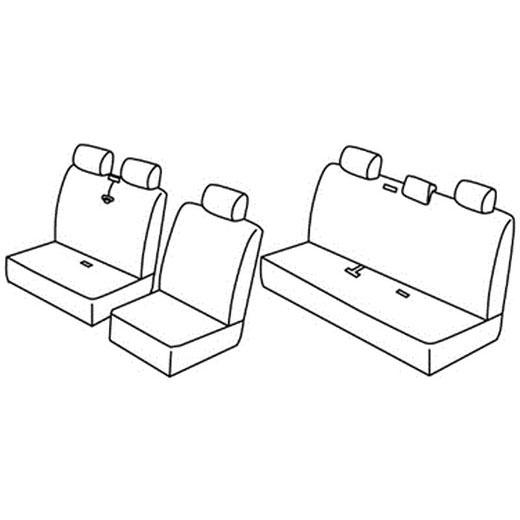 Sedežna prevleka za Hyundai H-1