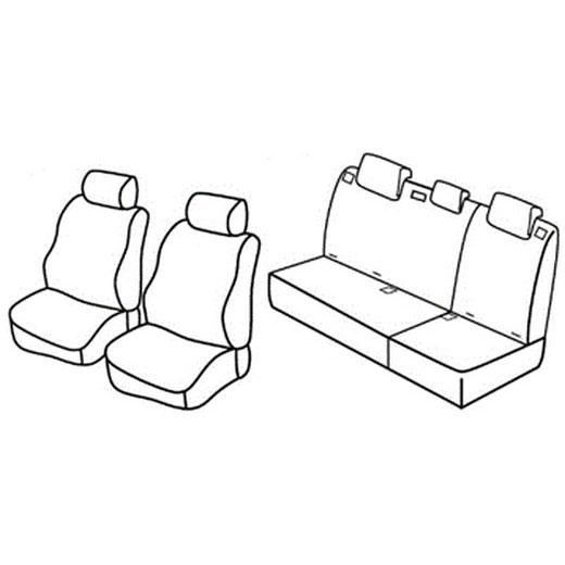 Sedežna prevleka za Hyundai i10