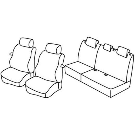 Sedežna prevleka za Hyundai i20