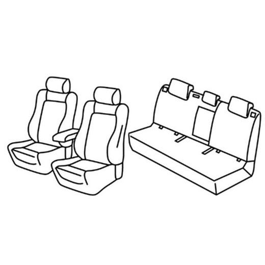 Sedežna prevleka za Hyundai i30 Premium