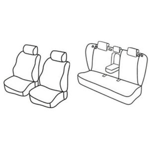 Sedežna prevleka za Hyundai i40 CW