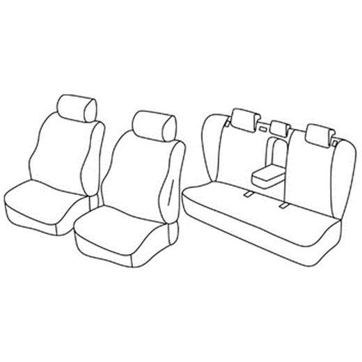 Sedežna prevleka za Hyundai i40 Sedan